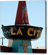 La Cita In Tucumcari On Route 66 Nm Canvas Print