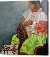 La Costurera Canvas Print