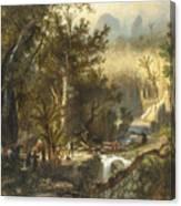 La Cueva Del Guaracho, Venezuela Canvas Print