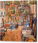 La Curva Sul Canale Canvas Print