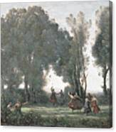 La Danse Des Nymphes Canvas Print