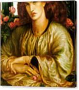 La Donna Della Finestra Canvas Print