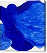 La Famille Bleue Canvas Print