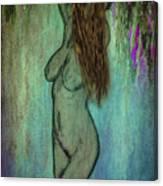 La Femme II Canvas Print