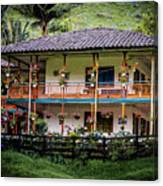 La Finca De Cafe - The Coffee Farm Canvas Print