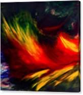 La Fleur Du Paradis Canvas Print