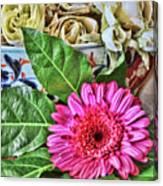La Flor De La Castellana Canvas Print