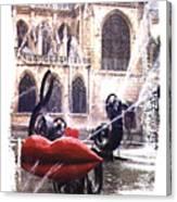 La Fontaine Stravinski Canvas Print