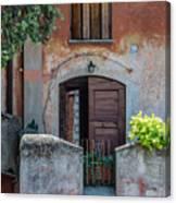 La Fraschetta Del Borgo Canvas Print