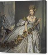 La Frayeur Canvas Print