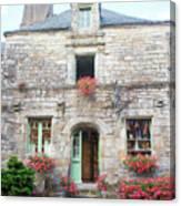 La Gacilly, Morbihan, Brittany, France, Shop Canvas Print