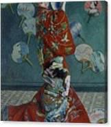 La Japonaise Canvas Print