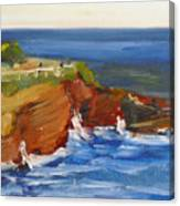 La Jolla Cove 017 Canvas Print