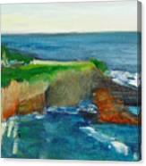 La Jolla Cove 021 Canvas Print