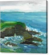 La Jolla Cove 026 Canvas Print