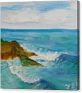 La Jolla Cove 029 Canvas Print