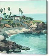 La Jolla Cove In December, La Jolla, San Diego, California Canvas Print