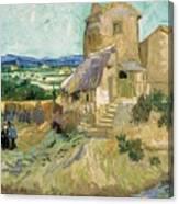 La Maison De La Crau The Old Mill Canvas Print