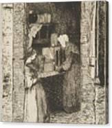 La Marchande De Moutarde Canvas Print
