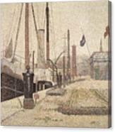 La Maria At Honfleur Canvas Print