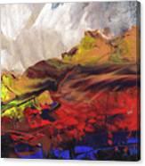 La Mer Rouge Canvas Print