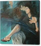 La Mujer Argentina Canvas Print