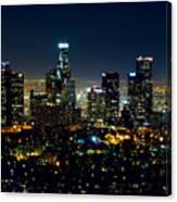 L.a. Night View Canvas Print