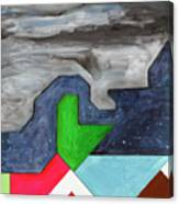 La Notte Sopra La Citta Verde - Part IIi Canvas Print