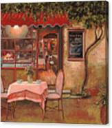 La Palette Canvas Print