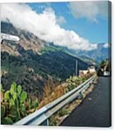 La Palma - Barranco De Las Angustias Canvas Print