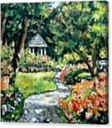 La Paloma Gardens Canvas Print