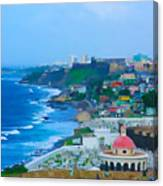 La Perla In Old San Juan Canvas Print