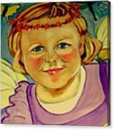 La Petite Fee   The Little Fairy Canvas Print