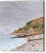 La Pointe De La Heve Canvas Print