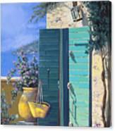 La Porta Verde Canvas Print