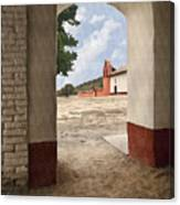La Purisima Arch Canvas Print