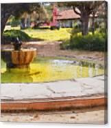 la Purisima Fountain Canvas Print