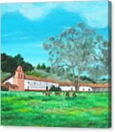 La Purisima Mission Canvas Print