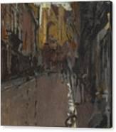 La Rue St Jacques Dieppe Canvas Print