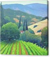 La Rusticana Afternoon. Canvas Print