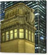 La Salle Street Bridge Control Tower 3 Canvas Print