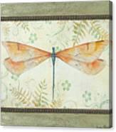La Sauge Libellule-2 Canvas Print