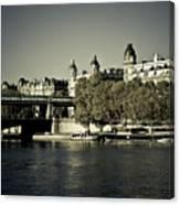 La Seine I Canvas Print