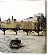 La Seine Canvas Print