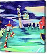 La Tempesta - Grand Canal Palace Canvas Print