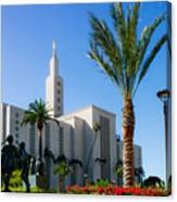 La Temple Children Canvas Print