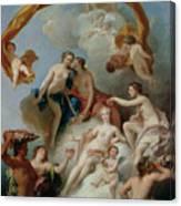 La Toilette De Venus Canvas Print