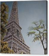 La Tour Eiffel 2 Canvas Print