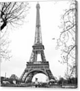 La Tour Eiffel, Paris Canvas Print