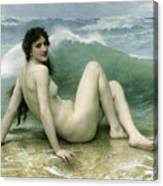 La Vague Canvas Print